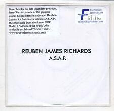 (HC624) Reuben James Richards, A.S.A.P. - DJ CD