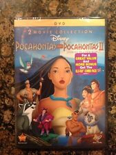 Pocahontas/Pocahontas II (DVD, 2012, 2-Disc Set)NEW Authentic Disney Release