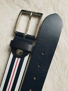 Paul & Shark Yachting fine mens Leather belt,exc.condition size 130/51 Worldwide