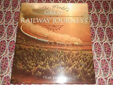 The World's Great Railway Journeys - Tom Savio - Hardback Book