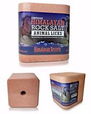 5.5 LB- Compressed Himalayan Salt Animal Lick 100% Pure by Himalayan Secrets