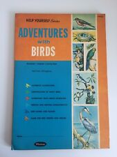 Adventures With Birds Whitman 1961 Help Yourself Series Workbook Textbook