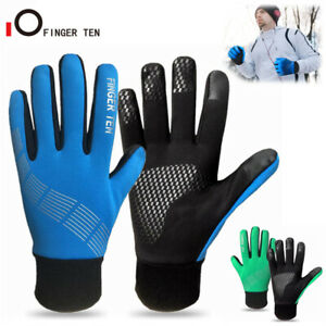 Winter Warm Gloves Mens Ladies Touch Screen Full Finger Windproof Cold Weather
