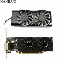 Fan Graphic Card HA5510M12F-Z 0.20A 2Pin GTX1050 Ti GPU MSI Geforce GTX 1050 2GT