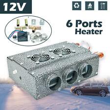 12V 6 Vent Auto Truck UnderDash Copper Heater Warmer Window Defroster Demister