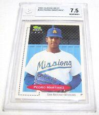PEDRO MARTINEZ--1991 CLASSIC BEST--GRADED--BECKETT 7.5--NEAR MINT--ROOKIE CARD