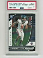 Antonio Gandy-Golden 2020 Prizm Draft Picks Rookie #167 Liberty PSA 10