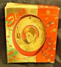 Elvis Presley Collectible 18K Gold Plated Ornament rare, new in package