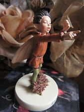 RETIRED! Cicely Mary Barker RUSH-GRASS FAIRY Flower Fairy Figurine On Base NEW!