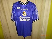 "Real madrid original kelme saliente camiseta 1997/98 ""Teka"" talla M-L España"