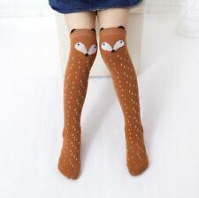 Baby Toddler Girl's Squirrel Leggings Warmer Leg Warmers Knee Long Socks 0-4 Y