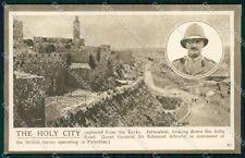 Militari Palestina Jerusalem Jaffa British Forces Allenby cartolina XF6638