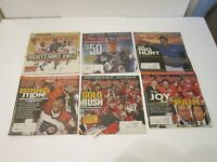2005 Lot of 24 The Hockey News NHL Issues Gold Rush Team Canada + Sidney Crosby