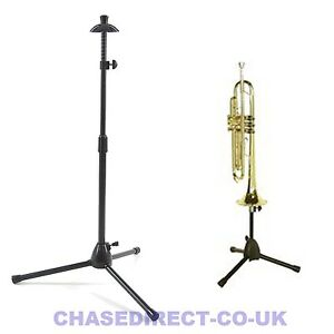 Trumpet Stand Foldable with Tripod Legs - Trombone Stand Presently Sold Out