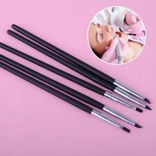 5pcs Adhesive Composite Resin Cement Porcelain Dental Teeth Silicone Brush Pen
