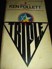Triple By Ken Follett 1980 Paperback