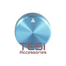 Tesi Premium Aluminum Guitar Knob Anodized Blue