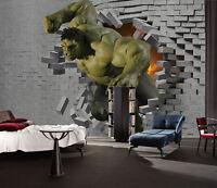 3D Starke Hulk 666 Fototapeten Wandbild Fototapete BildTapete Familie