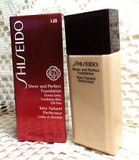 Shiseido Sheer And Perfect Foundation - I20 - No Spf - 1.0 oz.