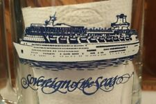 Royal Caribbean International Sovereign of the Seas Cruise Ship Glass Beer Mug