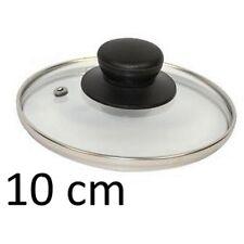PETIT COUVERCLE DE CASSEROLE 10 CM VERRE INOX USTENSILE CUISINE