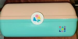 Caboodles On-the-Go Girl Case - Peach And Mint Green Nwt