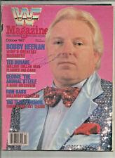 WWF October 1987 Autographed/Signed? Million Dollar Man, Bobby Heenan, Ron Bass