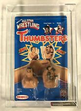 AWA 1985 Thumbsters Remco Greg Gagne vs Road Warrior Hawk AFA 85 UNPUNCHED!