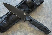 Benchmade 140BK Nimravus Fixed Blade Tactical Knife w/ Molle Sheath Included