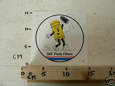 STICKER,DECAL DAF PARTS FILTERS C LARGE