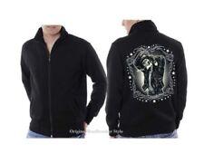 Skull Langarm Herren-Kapuzenpullover & -Sweats aus Baumwollmischung