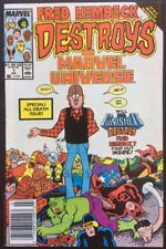 Marvel Comics Fred Hembeck DESTROYS The Marvel Universe Comic # 1 1989 VG