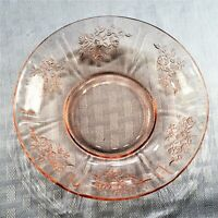 Federal Glass Sharon (Cabbage Rose) Pink Saucer (Only)