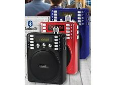 Supersonic SC-1443BT Mini PA Speaker +Bluetooth +USB/SD/FM +Microphone/Headset