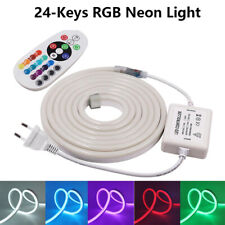Flex LED RGB Neon Light Ribbon Tape Strip Lights for Home Party Bar Xmas Decor