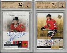 MARCUS KRUGER 2 CARD ROOKIE LOT BGS 9.5 W/AUTO's