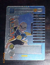 DRAGON BALL Z TCG DBZ PANINI CARD CARDDASS PRISM CARTE KRILLIN S16 NM RARE