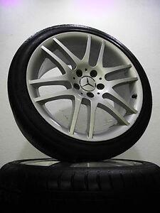 4 Sommerreifen 245 35 - 225 40 R18 Mercedes Benz SLK W171 18'' Alu.