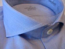 Van Laack Royal 43-44 43,5 R e S o Slim Fit moderno blu chiaro 169 € 1623