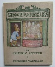 Antique children's book, Beatrix Potter Ginger and Pickles 1909 1st edition