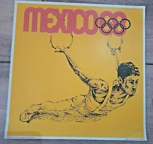 Mexico 1968 Olympic Games Poster #5