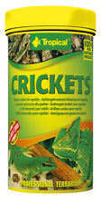 TROPICAL CRICKETS 250ml For reptiles and large aquarium fish
