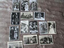 QUEEN ELIZABETH II & PRINCESS MARGARET Collection of Press Photographs Lot 2