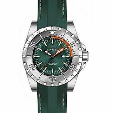 Invicta Men's 23738 Pro Diver Quartz 3 Hand Green Dial Watch