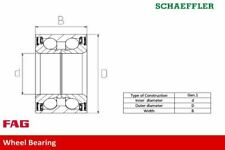 FAG 713 6905 10 WHEEL BEARING KIT Front