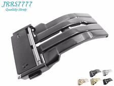 24mm Watch Strap Deployment Stainless Steel Titanium Solid Buckle Hublo Classic