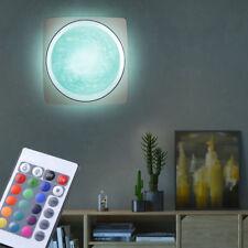 Design LED 7 Watt RGB Wand Badezimmer Leuchte Farbwechsler dimmbar Fernbedienung