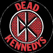15066 Dead Kennedys DK Logo Brick Punk Rock Music Band Sticker Decal Kennedy's
