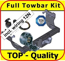 Towbar & Electric 12N Ford Transit without Rear Step 2000 - on / Full Towbar Kit