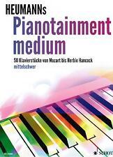 Klavier Noten : Heumann's PIANOTAINMENT medium - 50 Klavierstücke - mittelschwer